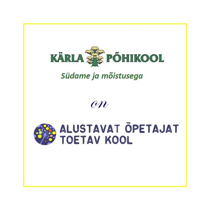 Oleme  vastu võetud alustavaid õpetajaid toetavate koolide võrgustikku