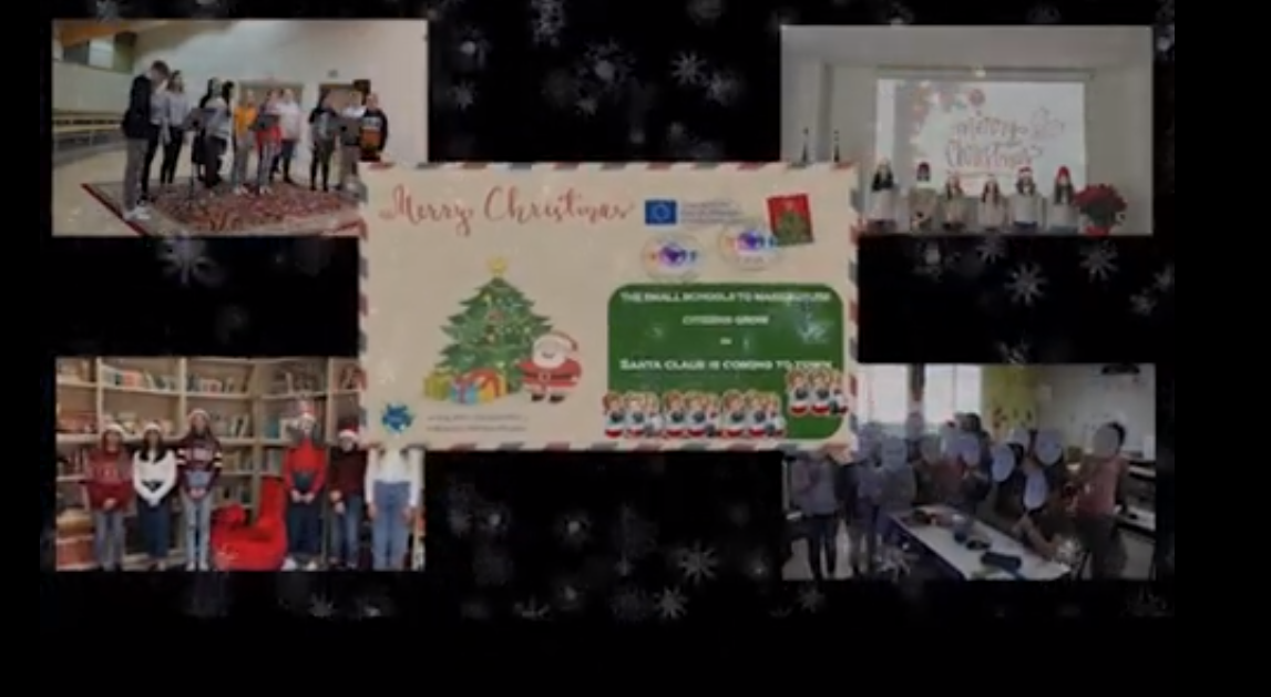 Erasmus projekti ühis-virtuaalkoori esitus