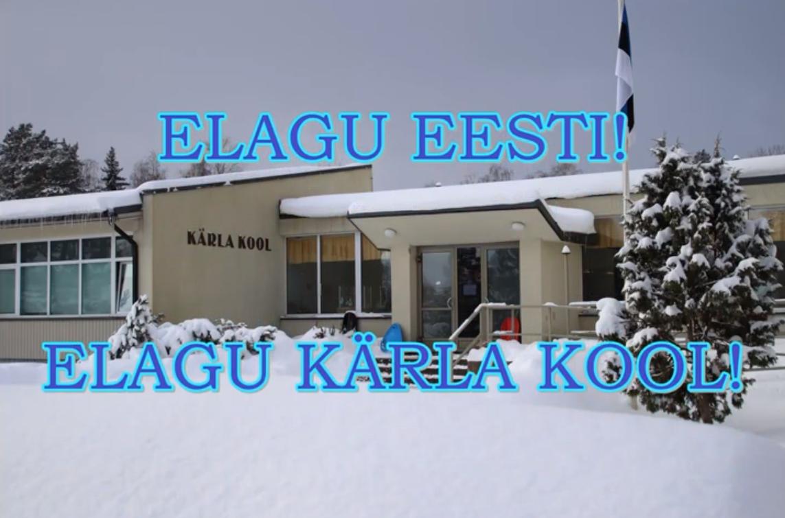 Eesti Vabariigi ja kooli sünnipäevatervitus video