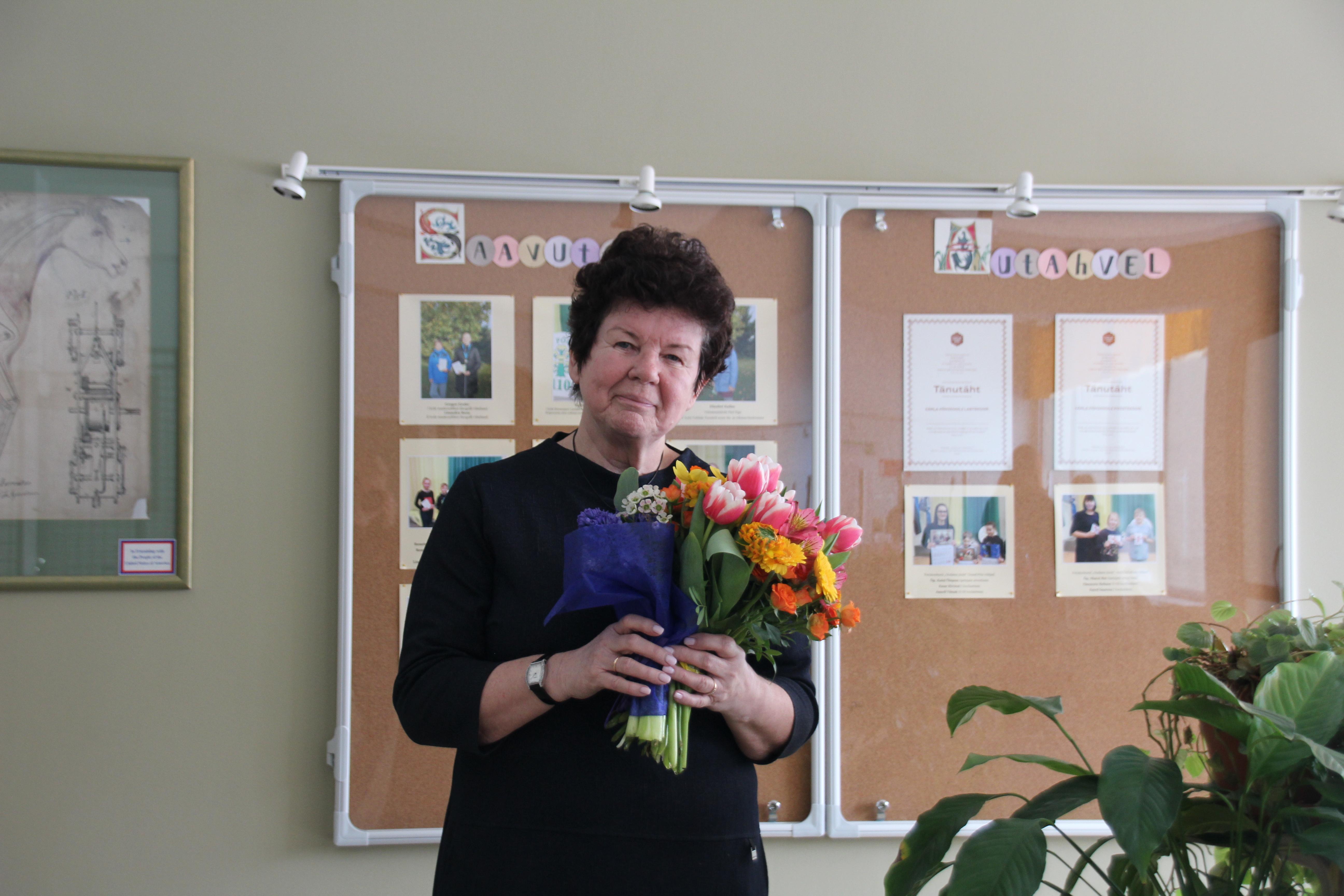 Õpetaja Anne Pildre