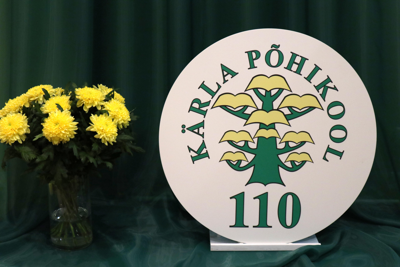 Kärla Põhikool 110 logo