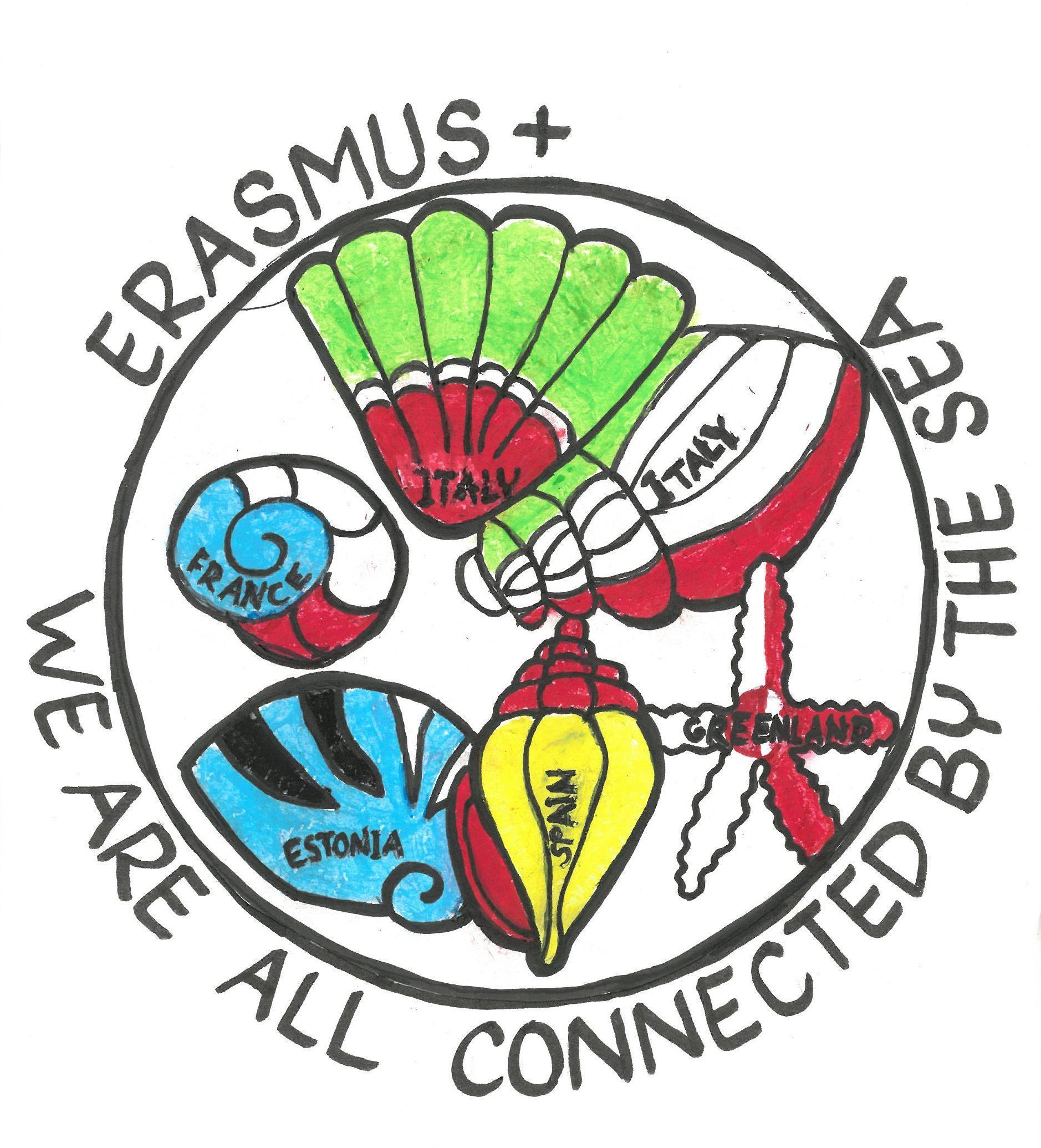 Erasmus+ projekti logo konkursile