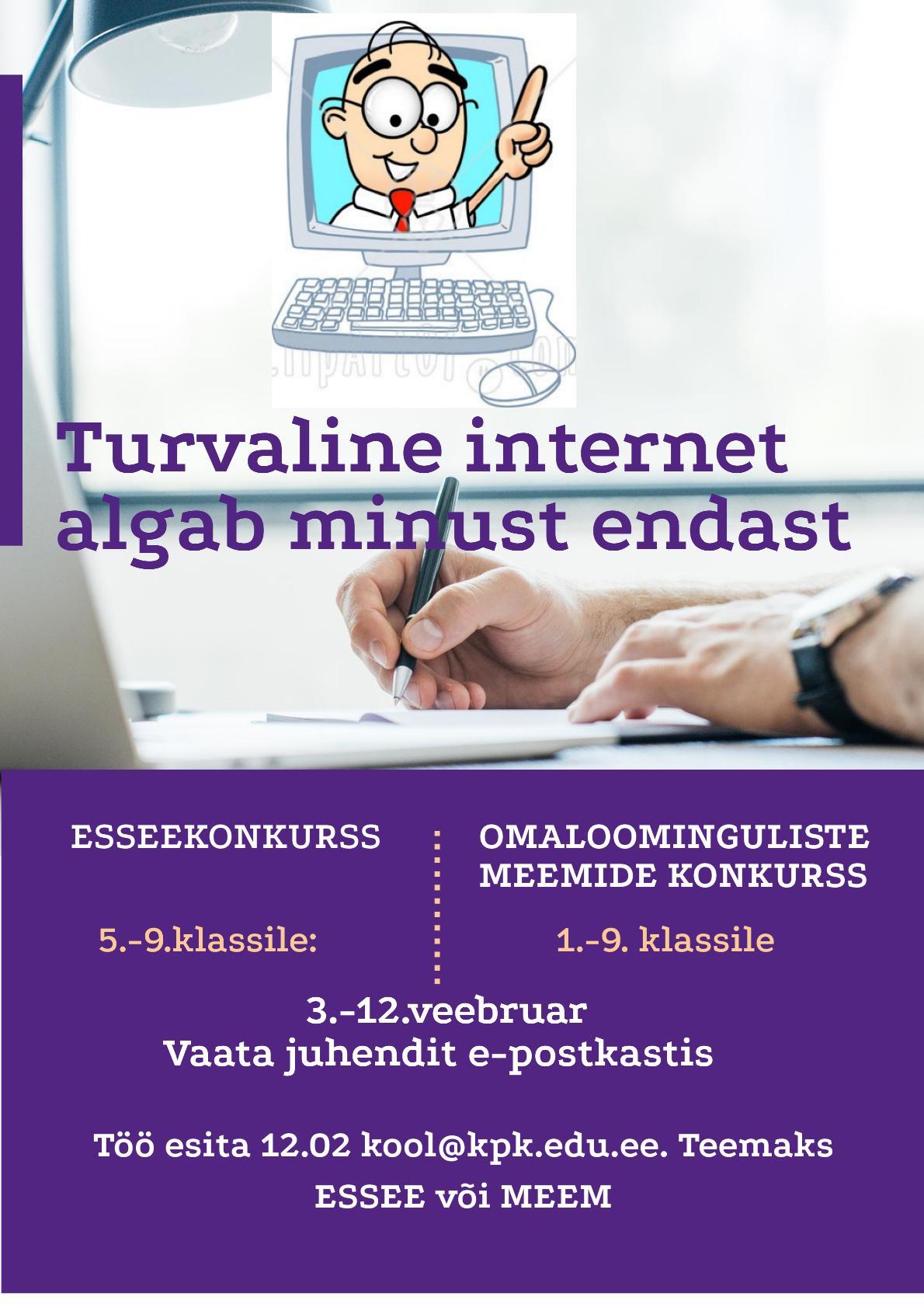 Interneti turvalisuse päeva kuulutus