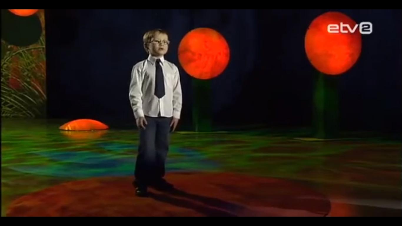 Väike Karl-Reedik Mändar solist tele-ekraanidel
